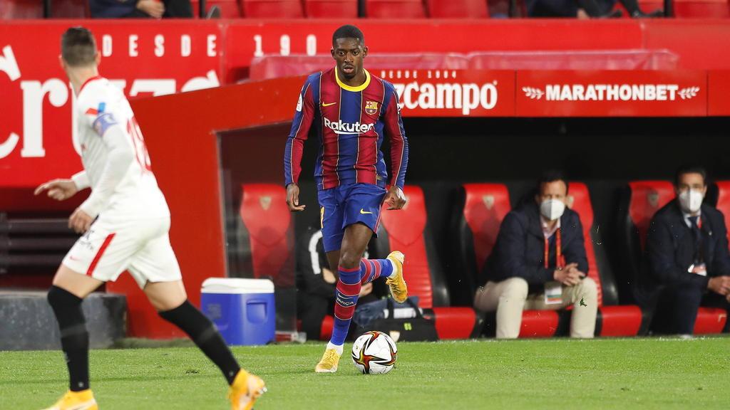 Ousmane Dembélé wechselte 2017 vom BVB zum FC Barcelona