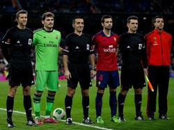 Iker Casillas führt Real Madrid als Kapitän aufs Feld