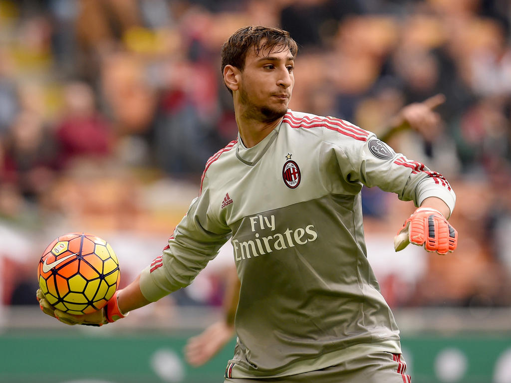 Gianluigi Donnarumma (16) zeigte in seinem Debüt für den AC Milan eine solide Partie