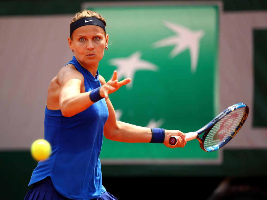 Lucie Safarova ist bei den French Open ausgeschieden