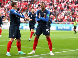 Kylian Mbappé feiert seine Tore mit einer besonderen Pose