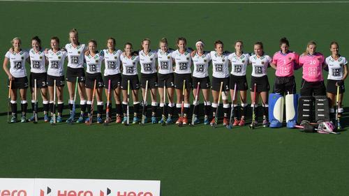 Die deutsche Damen-Nationalmannschaft hat bei der Hockey-WM einen Sieg gefeiert