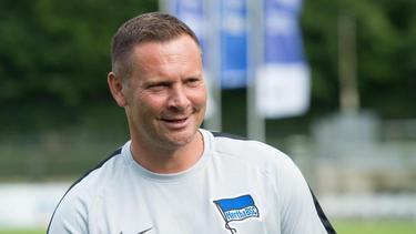 Trainer Pal Dárdai nimmt den Abbruch des Testspiels mit Gelassenheit