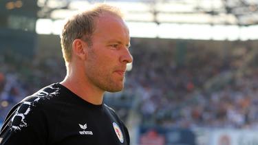 Trainer Henrik Pedersen betreut Eintracht Braunschweig erst seit diesem Sommer