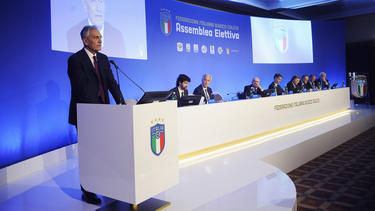 Gabriele Gravina ist neuer FIGC-Boss