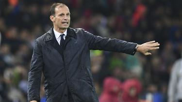 Zu Italiens bestem Coach gekürt: Massimiliano Allegri