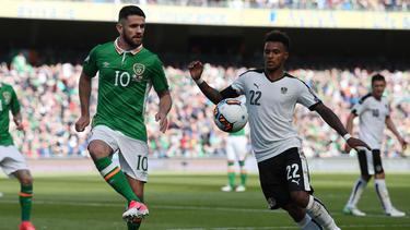 Lazaro (re.) und Co. haben gegen Nordirland gewonnen