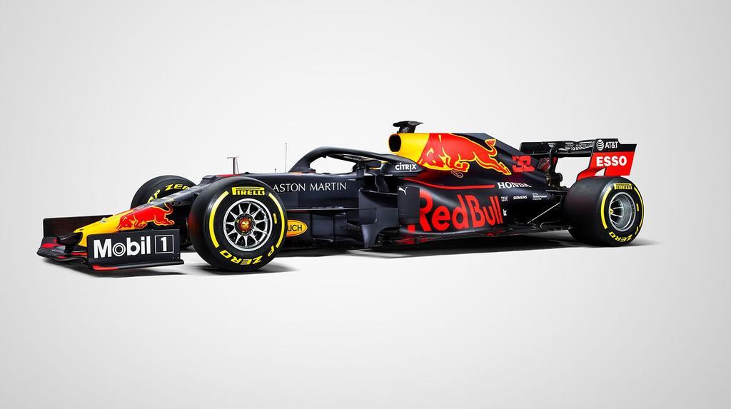 Das ist die Lackierung von Red Bull für die Formel-1-Saison 2019