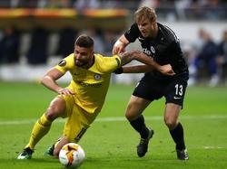 Martin Hinteregger zeigte gegen Chelsea eine starke Leistung. © Getty Images/Bongarts/Martin Rose