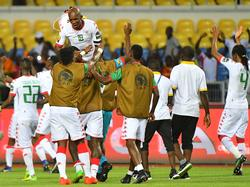Burkina Faso bejubelte den dritten Platz