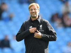 Jürgen Klopp hat auf Aussagen reagiert, er wünscht sich Manchester United zu trainieren