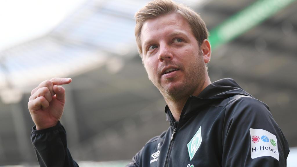 Werder-Coach Florian Kohfeldt war mit der Testserie zufrieden