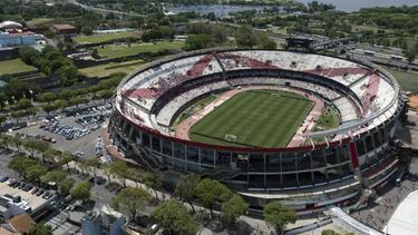 River Plate öffnet das Monumental-Stadion für Obdachlose