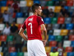 Adrian Grbić, hier im Trikot des österreichischen U21-Teams, schied mit Clermont Foot aus