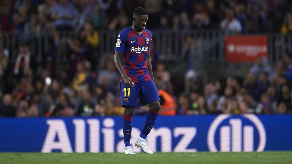 Ousmane Dembélé wird die nächsten Ligaspiele zuschauen müssen