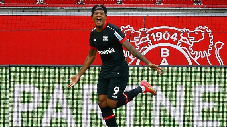 Steht bei Bayer Leverkusen vor dem Absprung: Leon Bailey