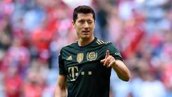 Robert Lewandowski vom FC Bayern trifft im 13. Heimspiel in Serie