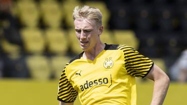 Colin Kleine-Bekel traf für die U19 des BVB