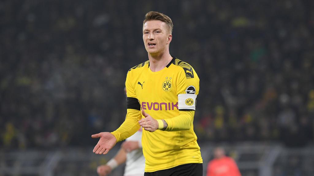 BVB-Kapitän Marco Reus zeigte zuletzt einen deutlichen Aufwärtstrend