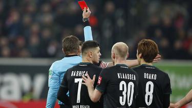 Schiedsrichter-Chef Lutz Michael Fröhlich hat den Platzverweis für Werders Moisander gerechtfertigt
