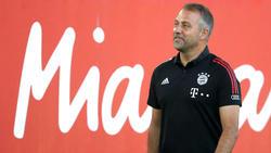 Hansi Flick kann mit dem FC Bayern das Triple gewinnen