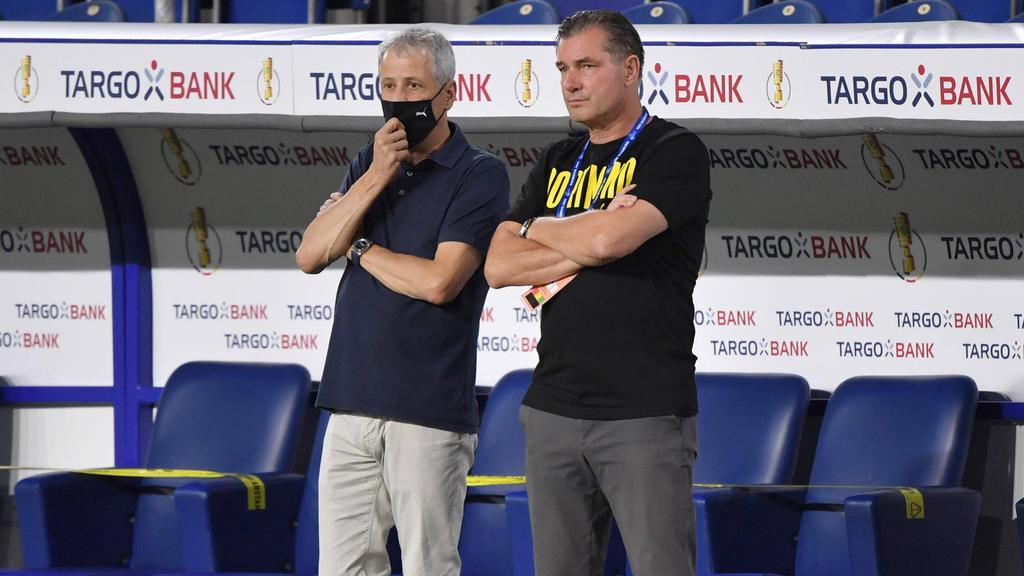 BVB-Sportdirektor Michael Zorc lobt den FC Bayern