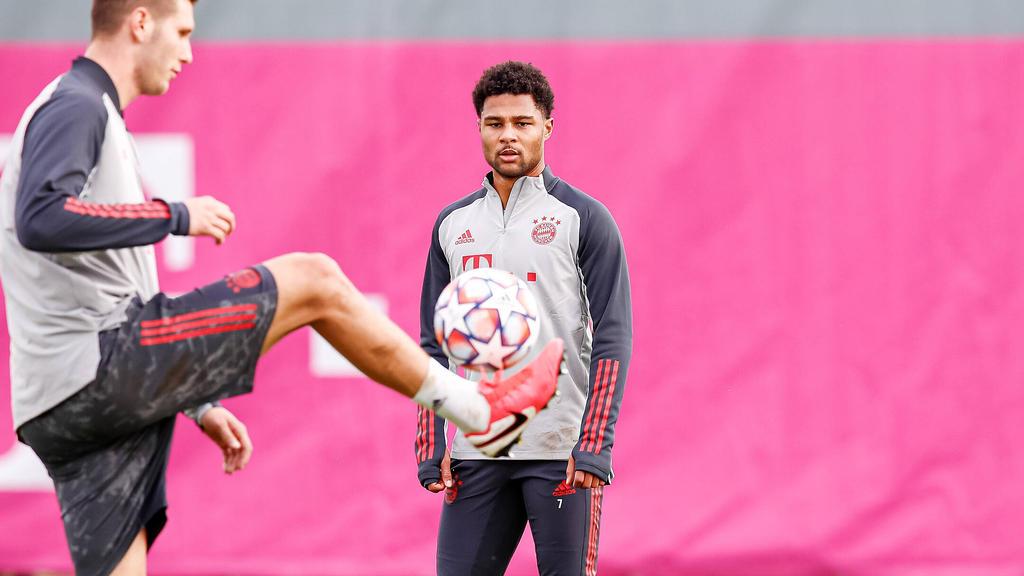 Serge Gnabry vom FC Bayern hat sich mit dem Corona-Virus infiziert