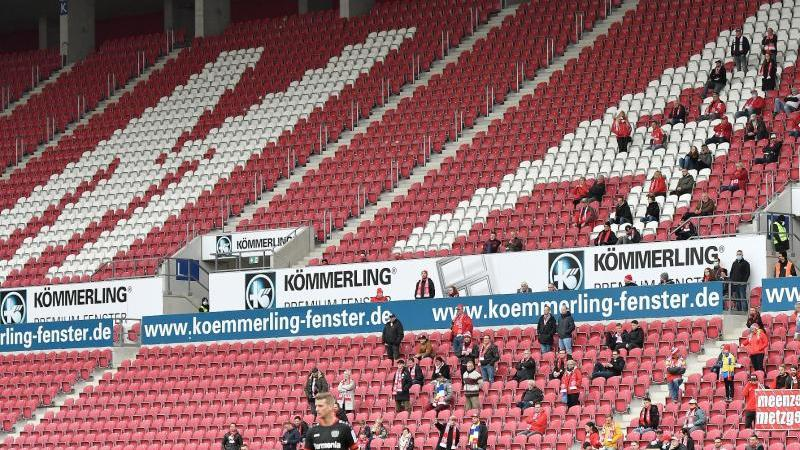 Der FSV Mainz 05 darf derzeit nur vor 100 Fans spielen