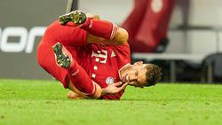 Hernández vom FC Bayern verletzte sich gegen Werder Bremen