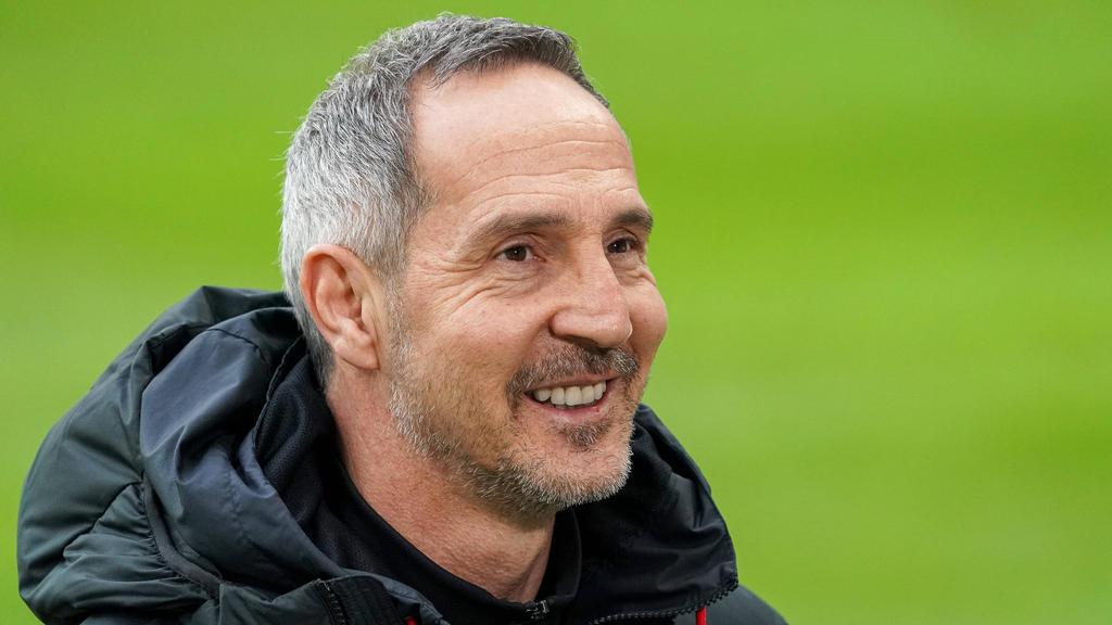 Adi Hütter bezwang mit Eintracht Frankfurt den FC Bayern