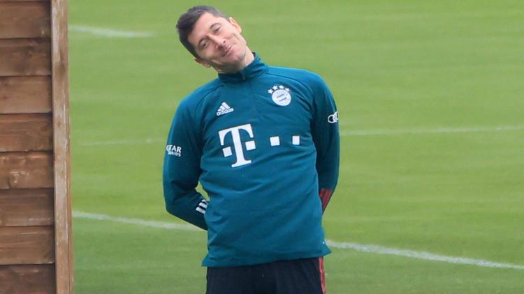 Robert Lewandowski steht beim FC Bayern vor dem Comeback