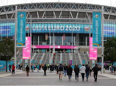 Wembley vivirá tres fechas mágicas con los duelos finales de la Euro.