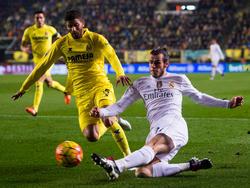 Musacchio intenta impedir el centro de Bale en un duelo del año pasado. (Foto: GEtty)