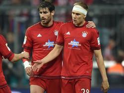 Javi Martínez und Holger Badstuber werden wohl die Innenverteidigung der Bayern bilden