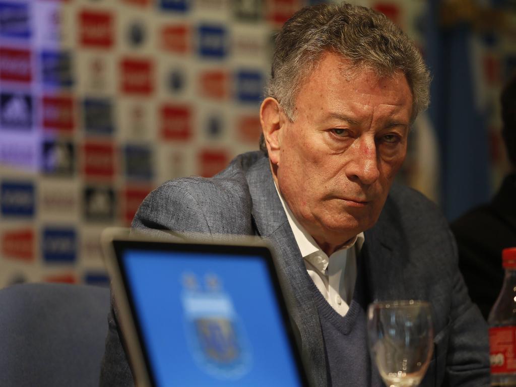 El presidente de la AFA, Luis Segura. (Foto: Imago)
