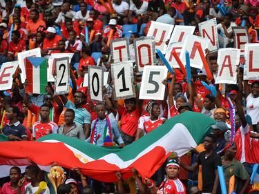 Seguidores de Guinea Ecuatorial en un partido de la Copa de África 2015. (Foto: Imago)