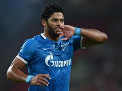 Hulk wechselte für 56 Millionen Euro nach Shanghai