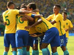 Brasil no quiere ni recordar el 7-1 del Mundial de 2014 y quiere el oro. (Foto: Getty)