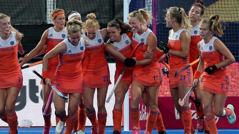 Die Niederländerinnen stehen im WM-Finale. Dort treffen die Hockey-Damen in London auf Irland