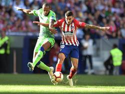 Ángel Correa fue el único goleador del encuentro. (Foto: Getty)