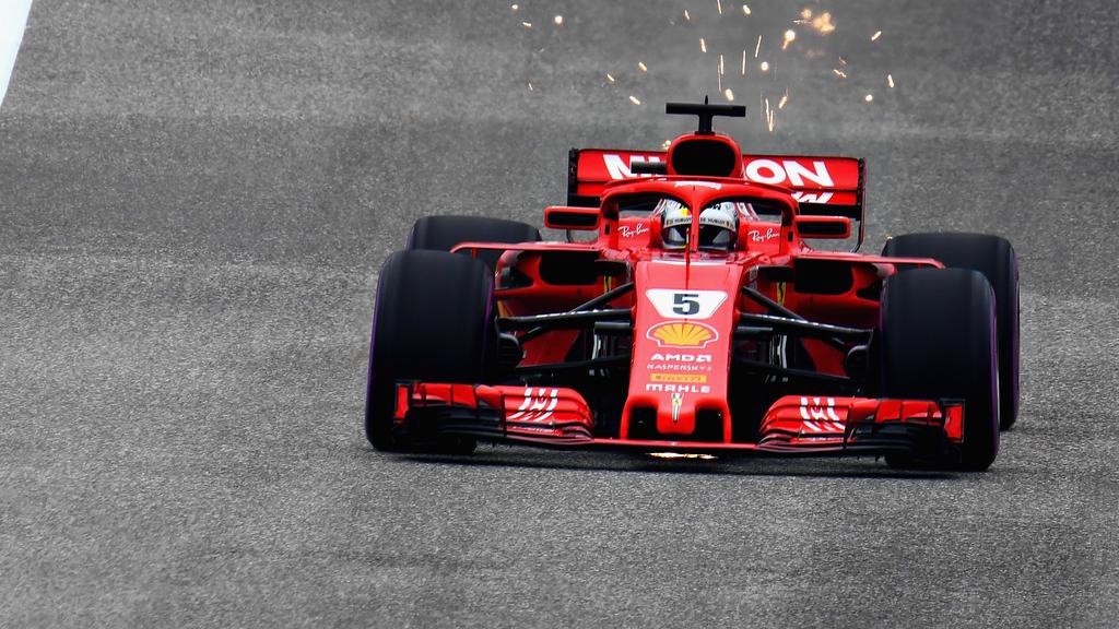 Sebastian Vettel fuhr die schnellste Trainingszeit