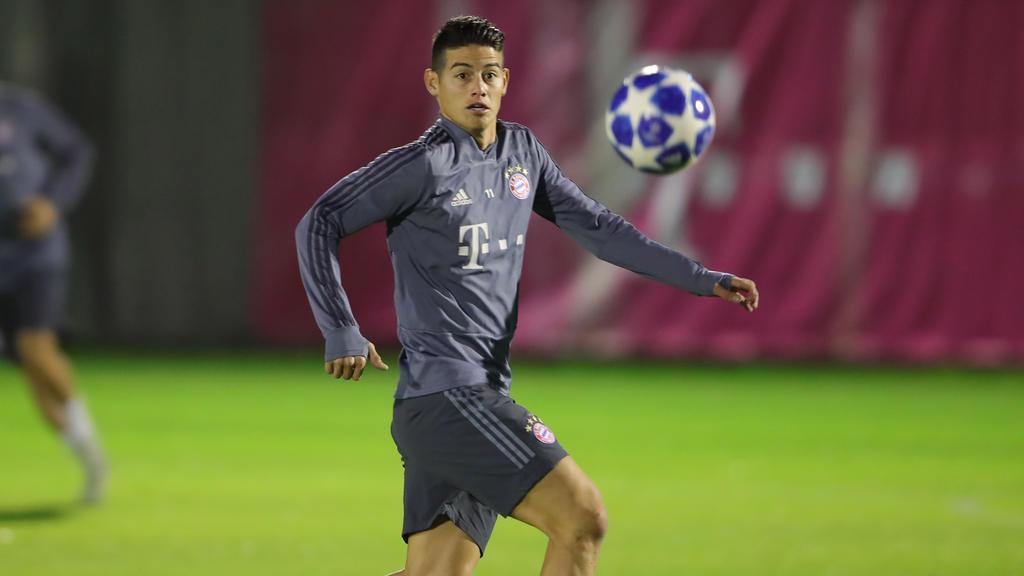 James Rodríguez fehlt dem FC Bayern offenbar beim BVB