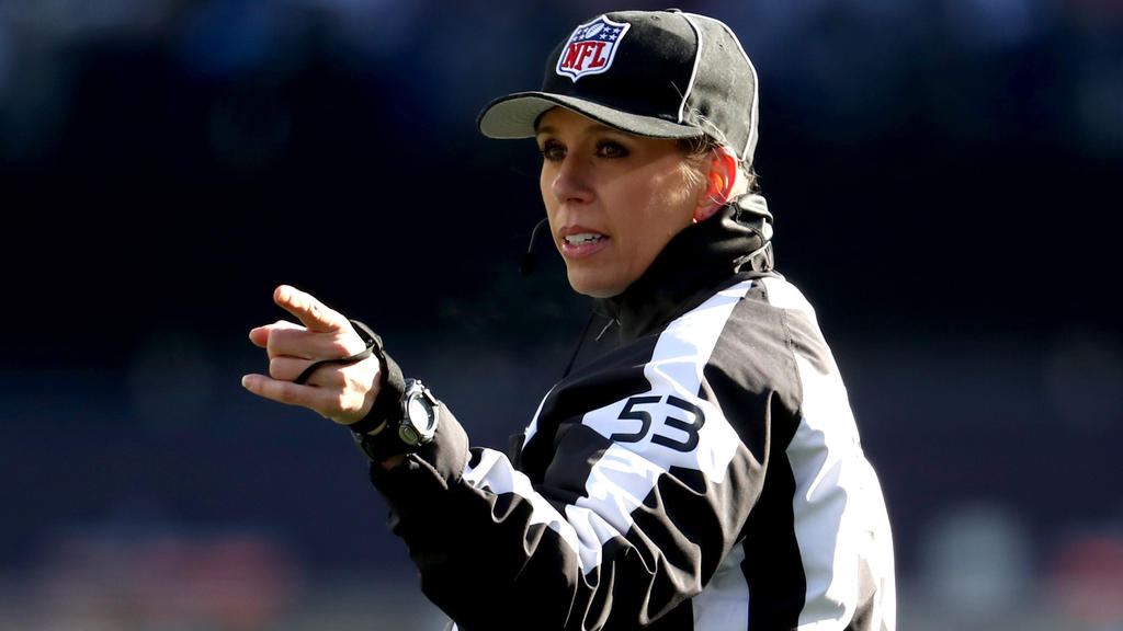 Sarah Thomas ist seit 2015 in der NFL aktiv