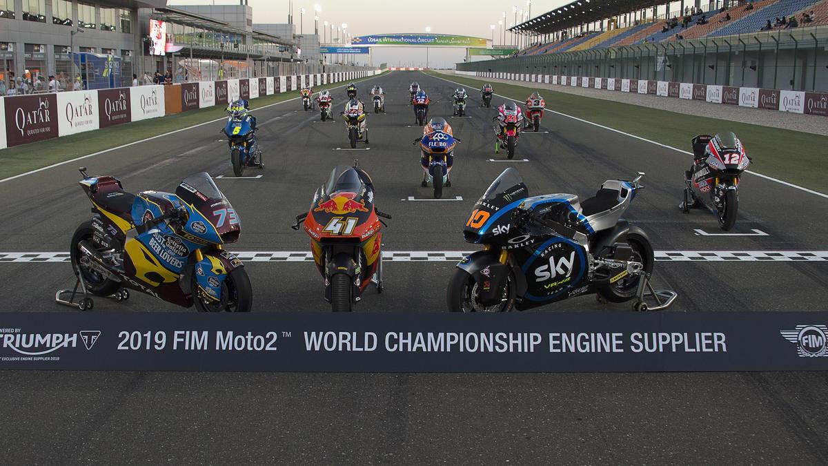 Moto2 Leistung