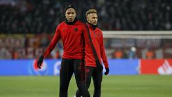Kylian Mbappé und Neymar spielen bei Paris Saint-Germain