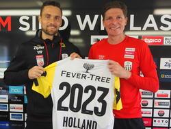 James Holland ist seit Sommer 2017 bei den Linzern