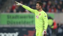 Michael Rensing steht seit 2013 bei Fortuna Düsseldorf unter Vertrag