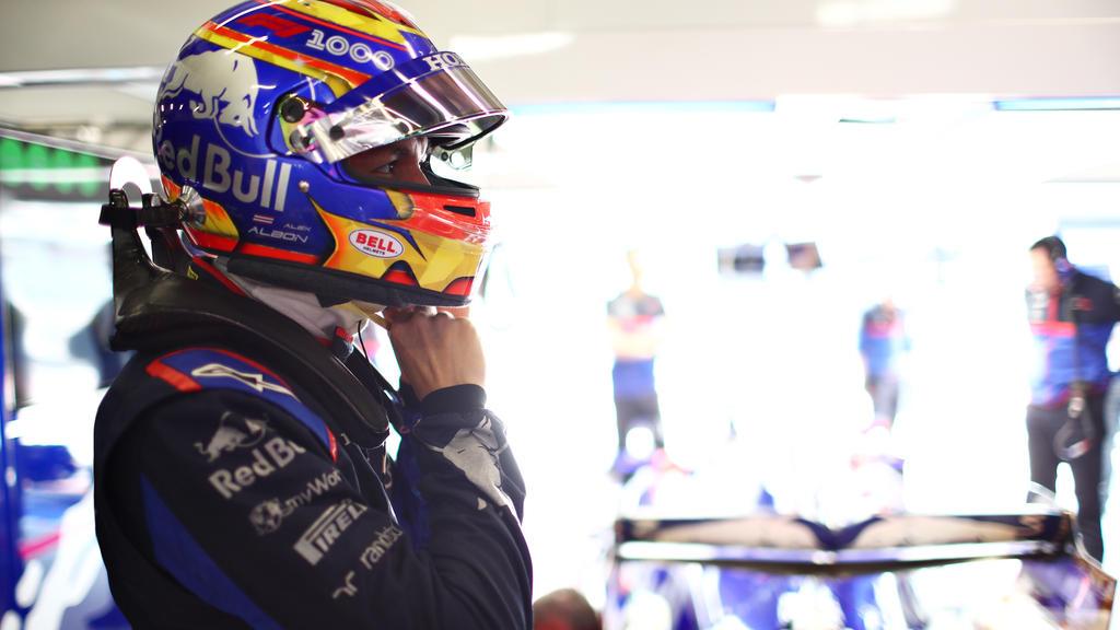 Alexander Albon zeigte am Sonntag ein Rennen ohne große Fehler