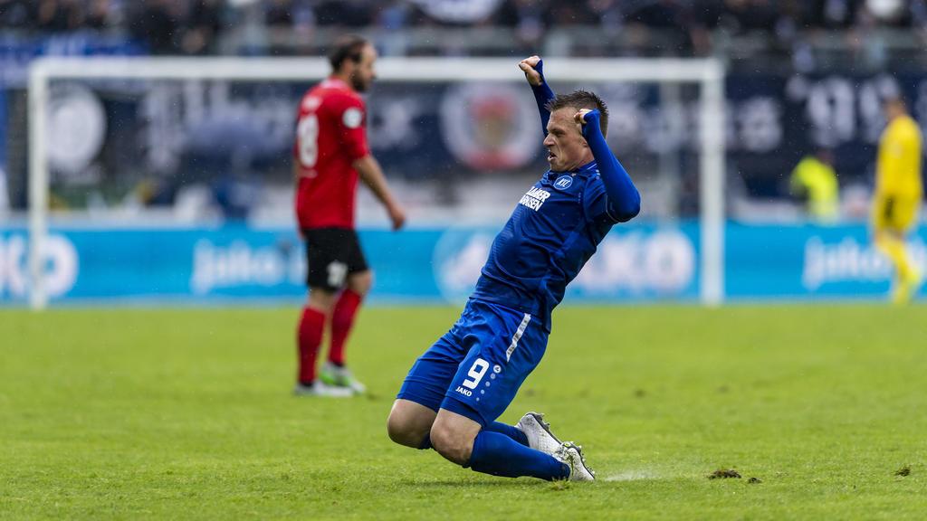 Beim Karlsruher SC war einmal mehr Marvin Pourié der Mann des Tages