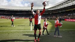 Robin van Persie bedankte sich bei den Feyenoord-Fans